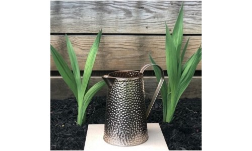 Copper Hammered Pitcher