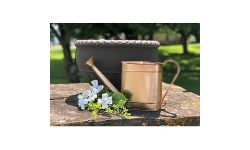Copper Hammered Water Can