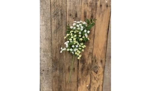 White Mini Flower Pick