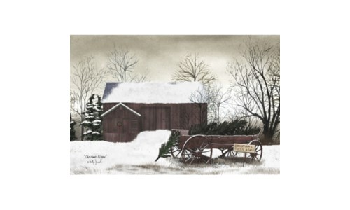 Christmas Wagon 12 x 18 in.