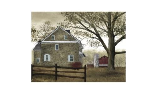 Bucks County Homestead Canvas
