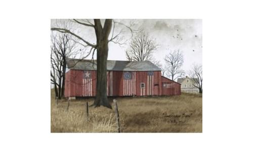 American Barn Canvas 12 x 16 in.