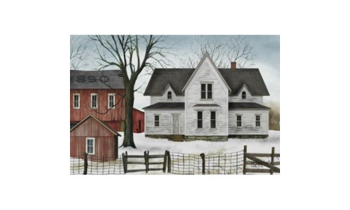 1890 Farmstead Canvas 12 in.x18 in.