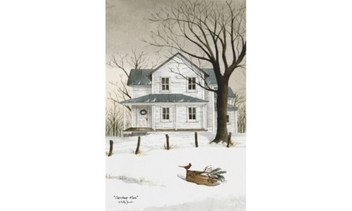 Christmas Morn Canvas 18 in.x12 in.