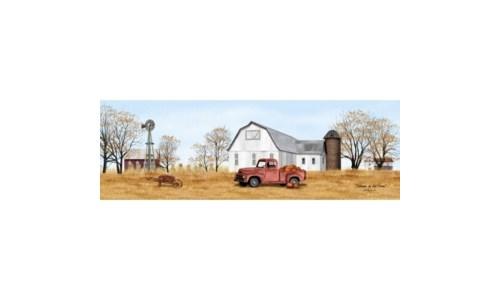 Autumn On The Farm Canvas