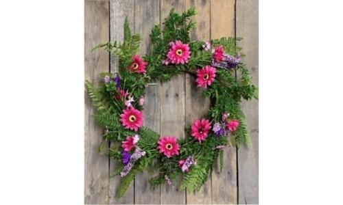 Purple Wreath 20 in.