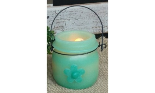 Flower LED Candle 3.5 in.