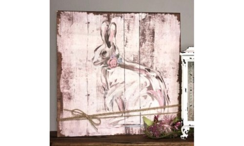 Bunny Wood 16'x16 in.