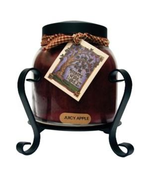 Candle Jar Holder - Black