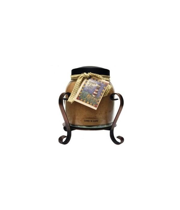 Candle Jar Holder - Copper
