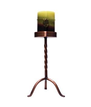 10 in. Pillar Holder - Copper