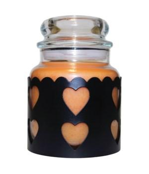 Heart Sleeve Sm Black-Cheerful