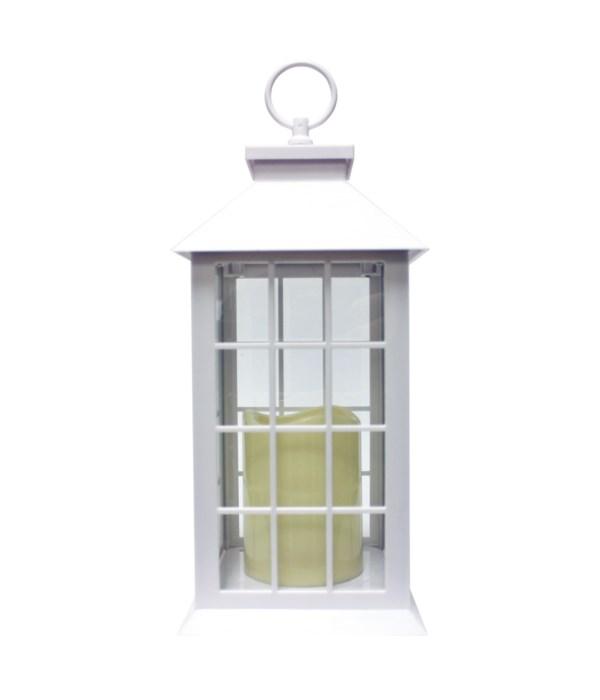 Indoor/Outdoor LED Lantern-White