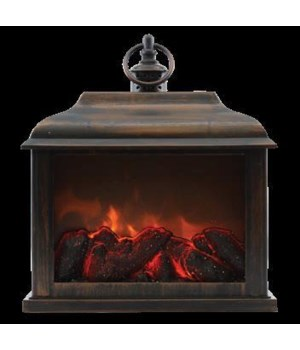 Bronze Traditional Fireplace Lantern
