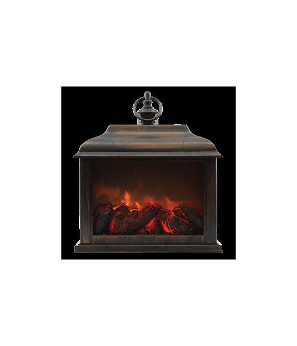 Bronze Traditional Fireplace Lantern