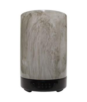 Ultrasonic Oil Diffuser - Artesian Glass Charcoal Classic