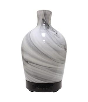 Ultrasonic Oil Diffuser - Artesian Glass Marble Vase