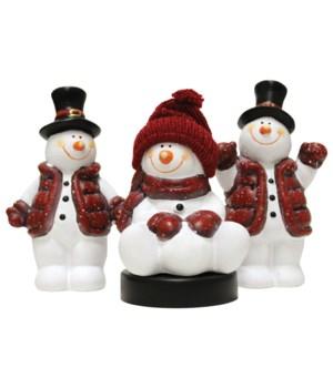 Snowkids With Vest - Set Of Three