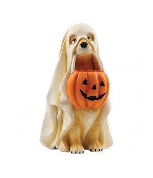 Trick Or Treat Ghost Dog