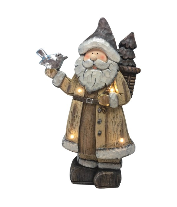 Father Winter with LED Lights