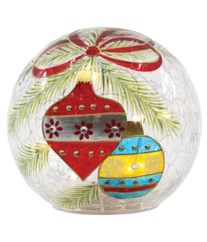 Christmas Ornaments Decorative Orb with LED String Lights