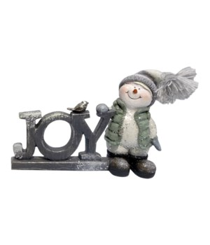 Joy Crystal Willie With Knit Hat