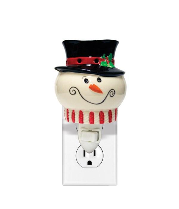 Snowman Plug In- Wax Melter