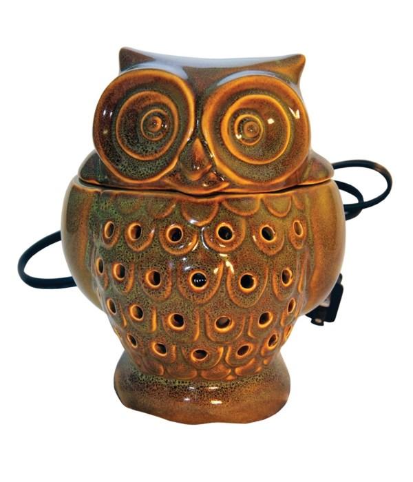 Owl Wax Warmer- Green