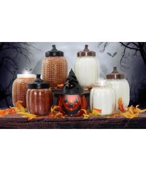 PRE PACK Pumpkin Candles Large 26oz Case Qty 12 Minimum of 2 per fragrance