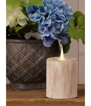 Globrite Clay Candle Pillar 3.5 x 4 in.