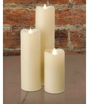 Ivory Slim Series Serene Candle 2 x 4 in.