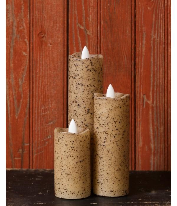 Rustic Slim Series Serene Candle 2 x 4 in.