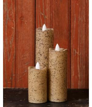 Rustic Slim Series Serene Candle 2 x 6 in.