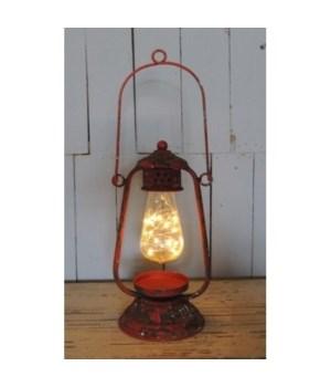 LED Red Lantern 16  x  6  in.