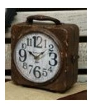 Antique Double Sided Clock   10  x  8 in.