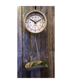 Hanging Scale Clock 36 in.