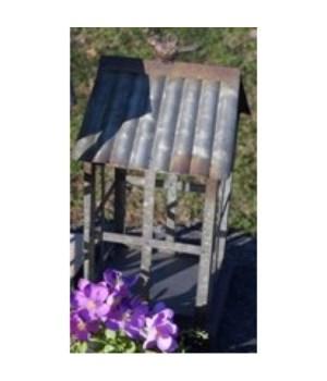 Metal Birdhouse Lantern Sm