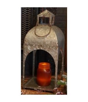 Galvanized Lantern Large