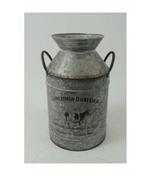 Cloverfield Milk Can Small 10 x 6 in.