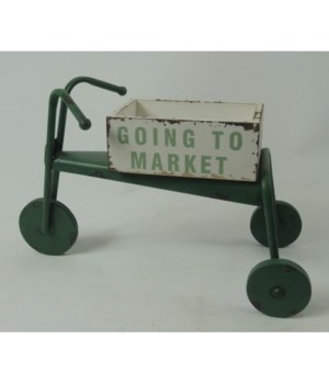Green Going Farmers Market Tricycle 11 x 16 in.