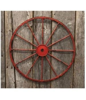 Red Dist Wagon Wheel 20 in.