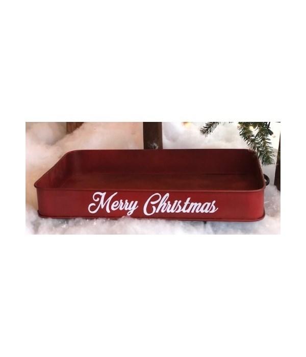 Red Wagon Tray