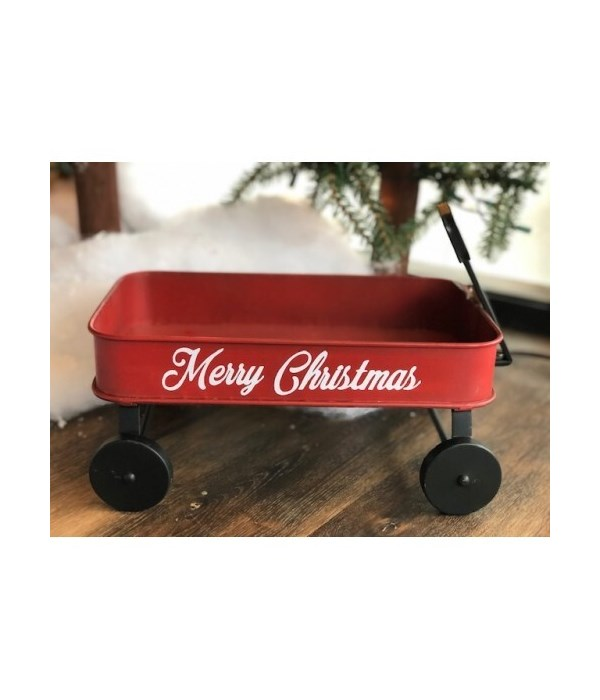 Red Wagon 8.75 x 12 x 8.5 in.