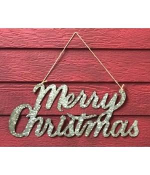 Galv Merry Christmas Sign