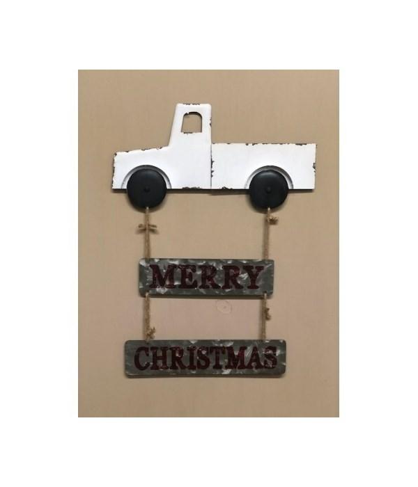 Cr Truck Merry Christmas Hang