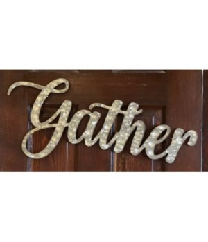 Gather Metal Sign 10 in.x22 in.