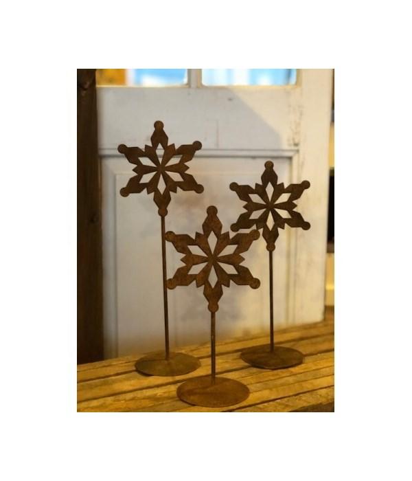 Rusty Star Snowflake (3)