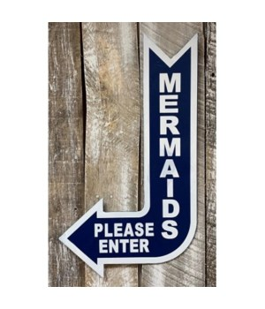 Mermaids Enter Sign