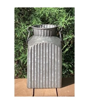 Ribbed Container w/Ring Hand-S