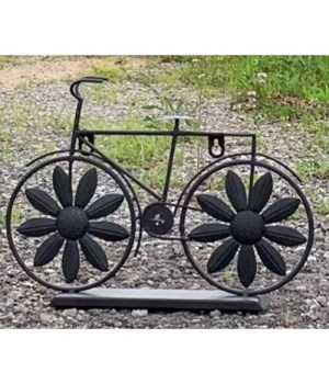 Two Wheel Flower Bicycle